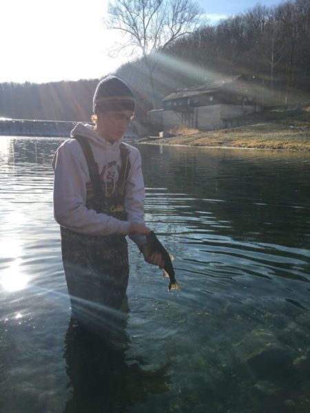 f1ea4763dc Winter Trout Fishing - MO-Outdoors Bennett Springs trout fishing